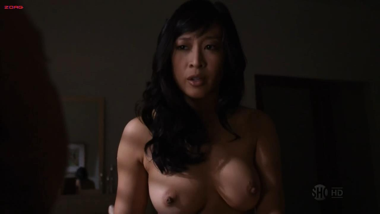 """Camille Chen nude and sex doggy style from TV Show """"Californication"""" s04e03 hd720p"""