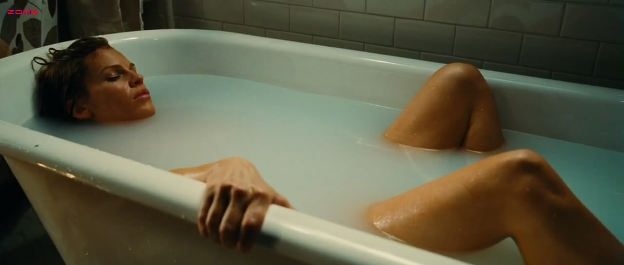 Hilary Swank naked in the bath - The Resident HD720p