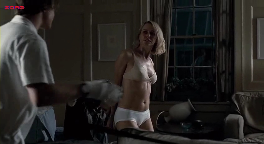 Naomi Watts hot in lingerie - Funny Games (2007)