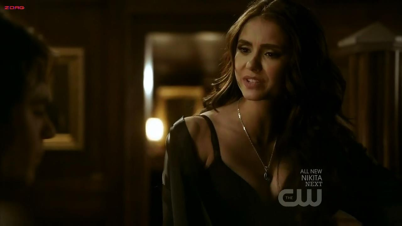 Nina Dobrev hot sexy cleavage – The Vampire Diaries S02E16 hd720p