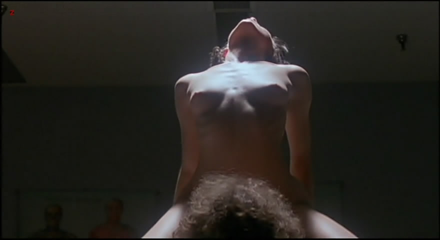 Molly Parker full frontal nude and sex with the dead dude - Kissed (1996) 480p