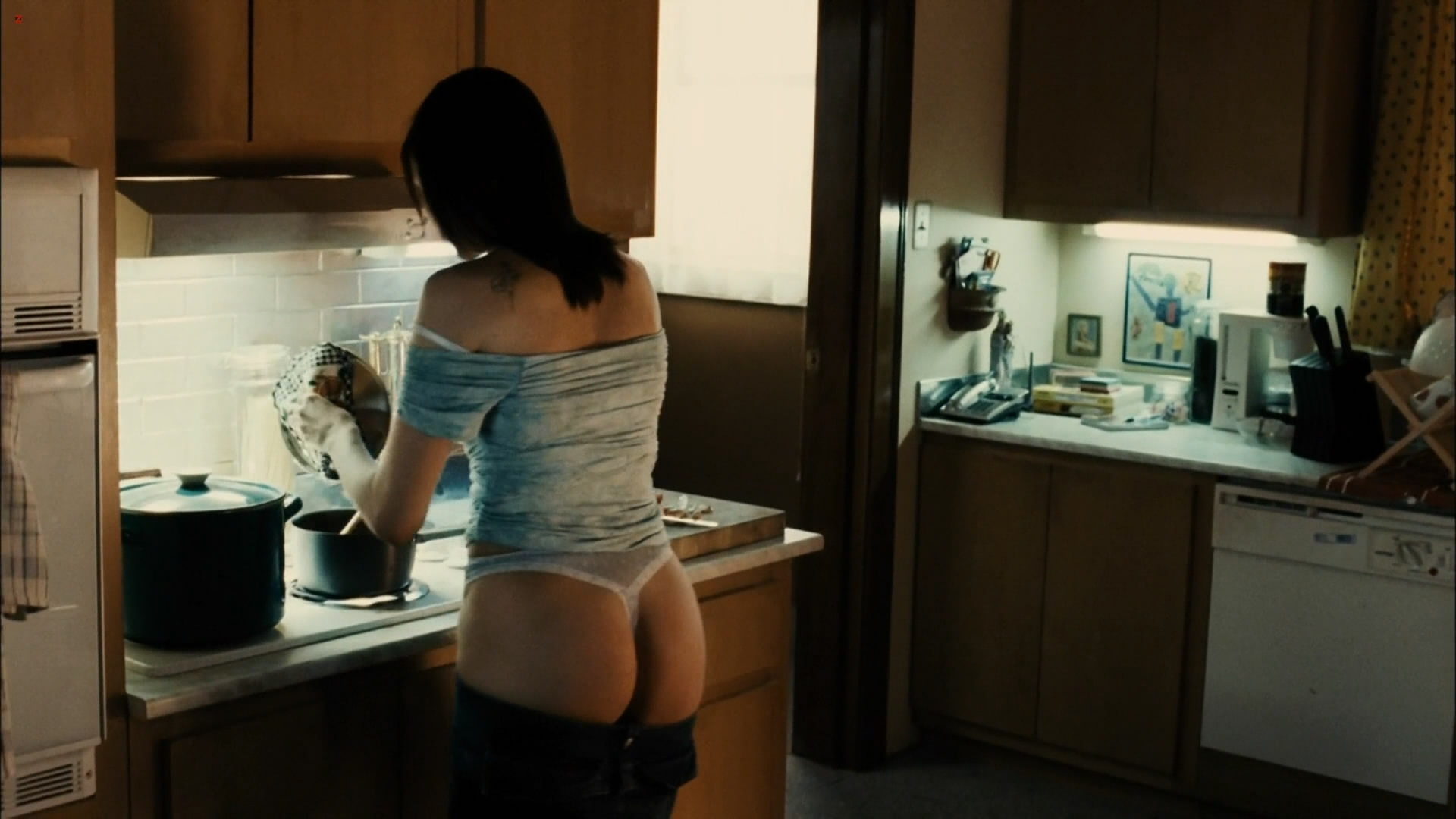Vera Farmiga not nude but bare butt in thong and sex - Running Scared hd1080p