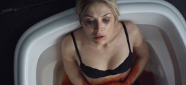 Rosamund Pike hot sex in the car doggy style and Emily Meade nude brief topless- Burning Palms (2010) hd720p (1)