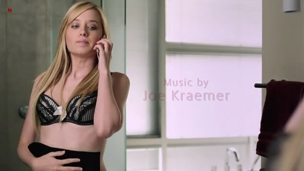 Megan Park hot in bra and lingerie - The Perfect Teacher (2010)