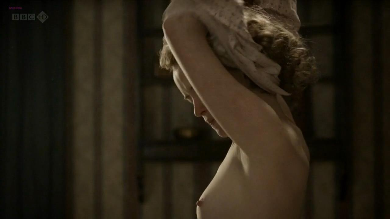 Claire Foy nude topless and lesbian kiss with Anna Wilson-Jones and Anna Maxwell nude full frontal – The Night Watch (2011) hd720p