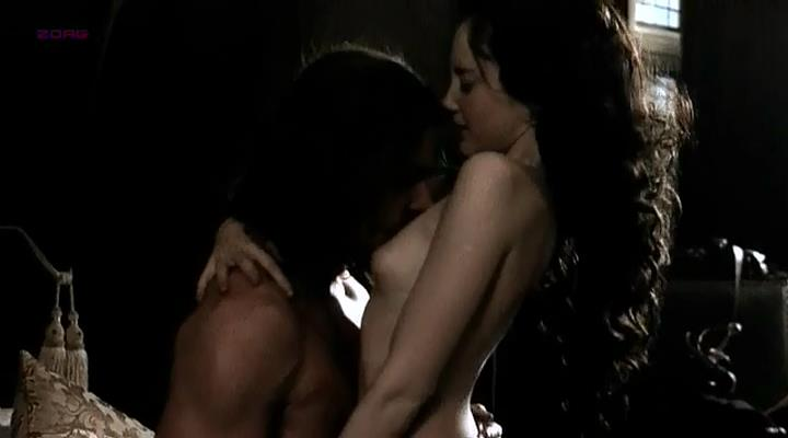 Andrea Riseborough nude topless and sex - The Devil's Whore (2008)