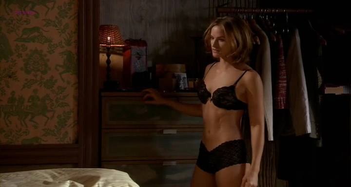"Kelly Overton hot in lingerie from ""Madso's War"" (2010)"