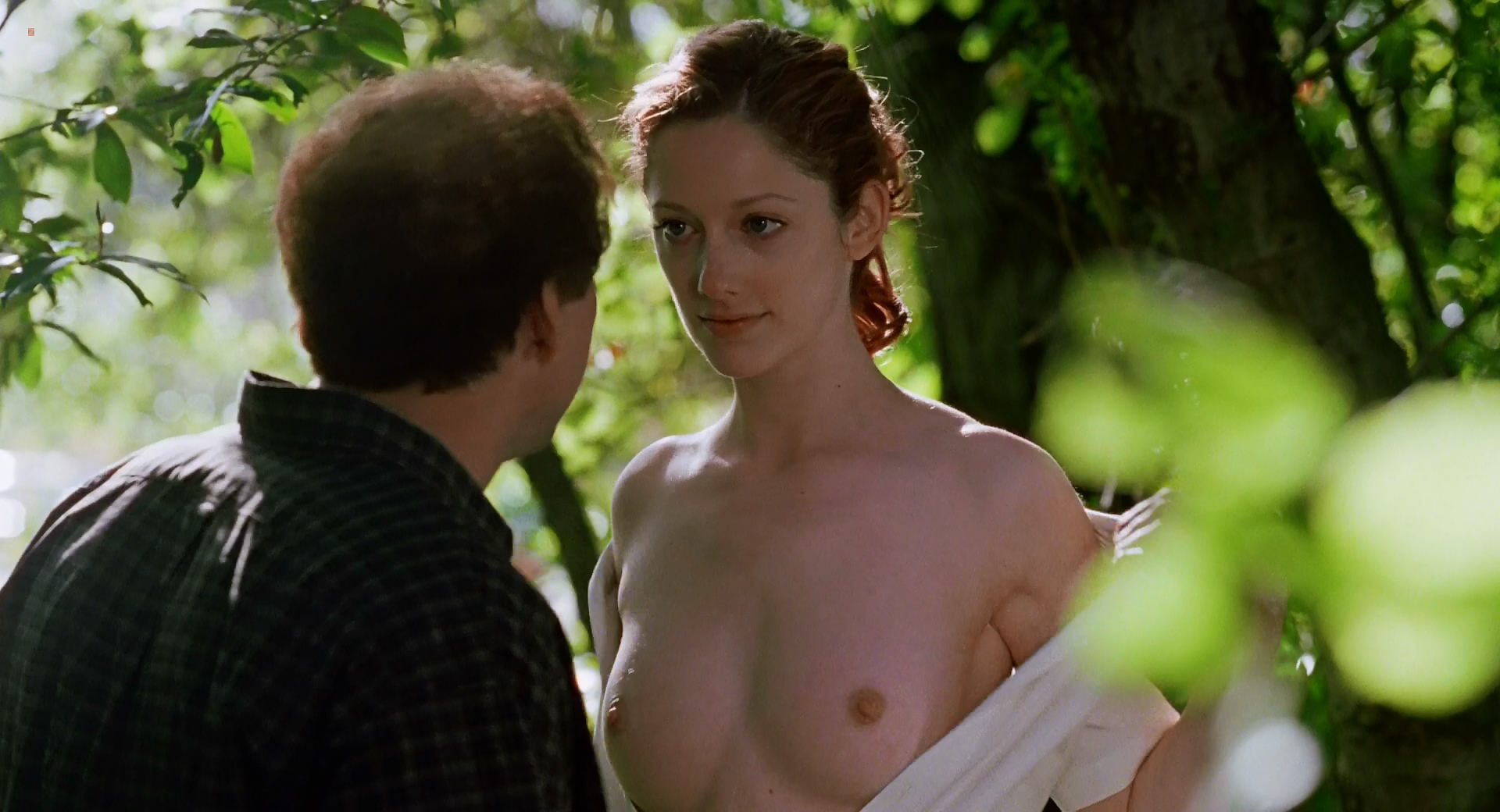 Judy Greer nude topless in – Adaptation (2002) hd1080p