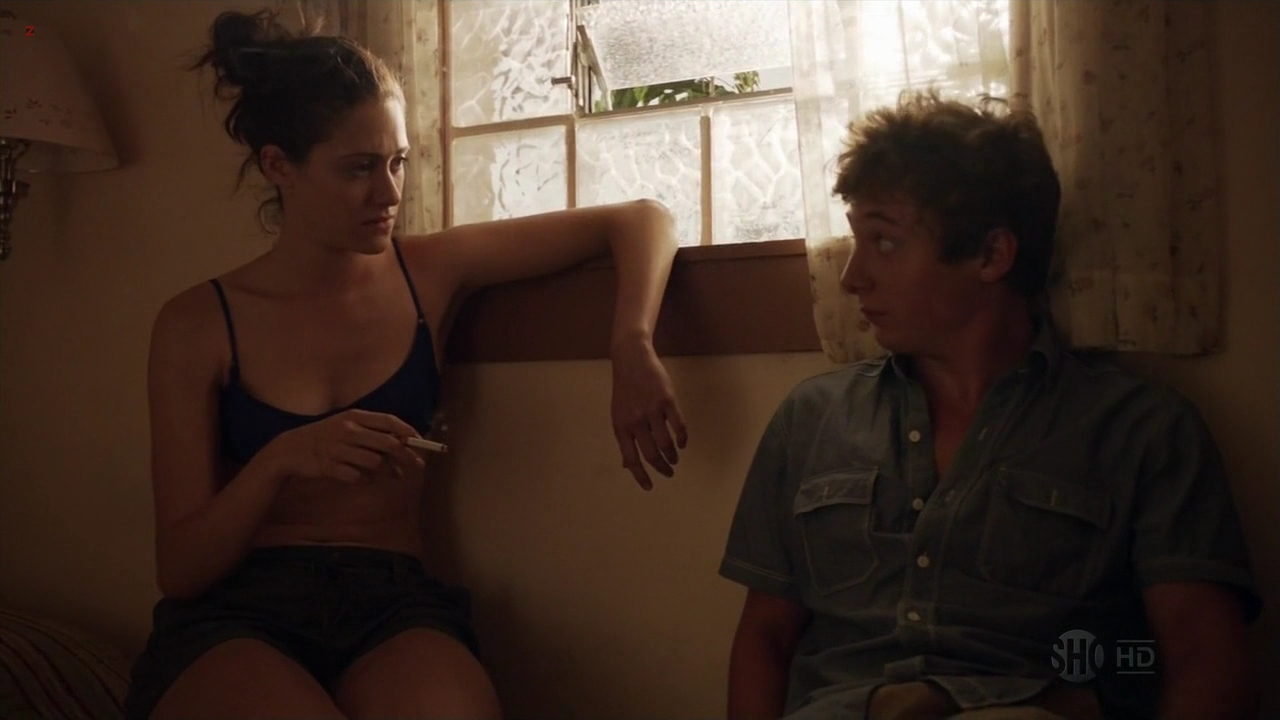 """Emmy Rossum, Laura Wiggins and Shanola  Hampton all hot and sexy in """"Shameless"""" s2e5 hd720p"""
