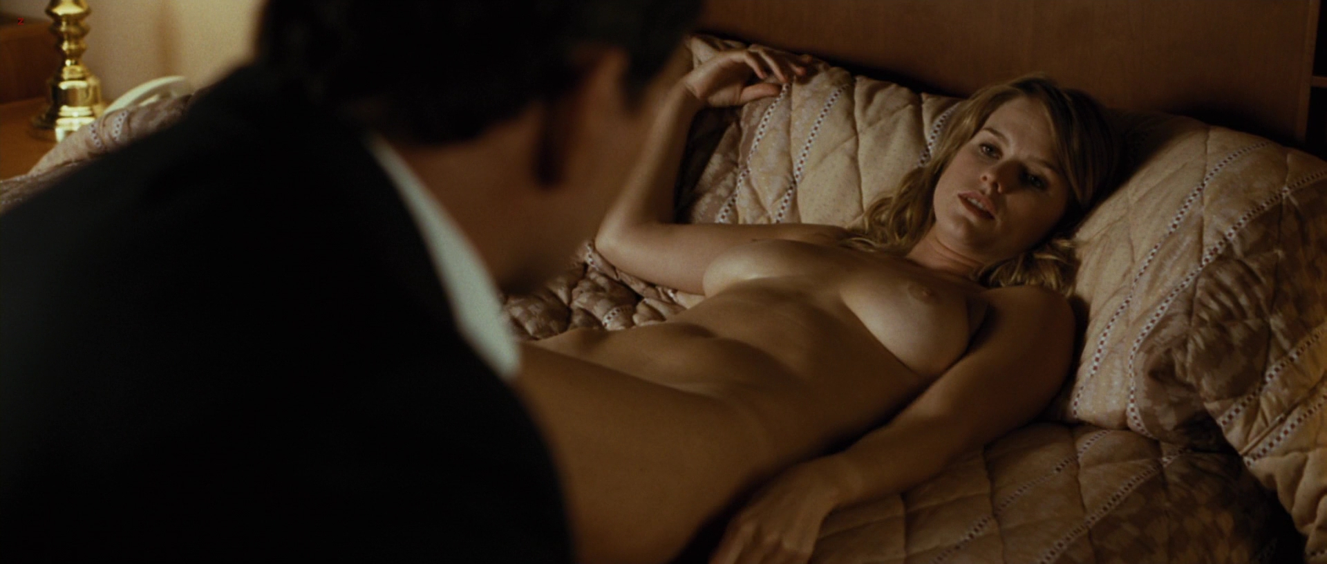Alice Eve nude topless from Crossing Over (2009) hd1080p