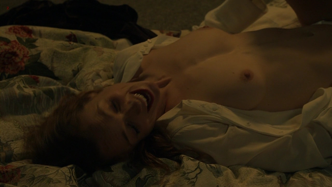 Kerry Condon nude topless and sex in - Luck s1e4 hd720p