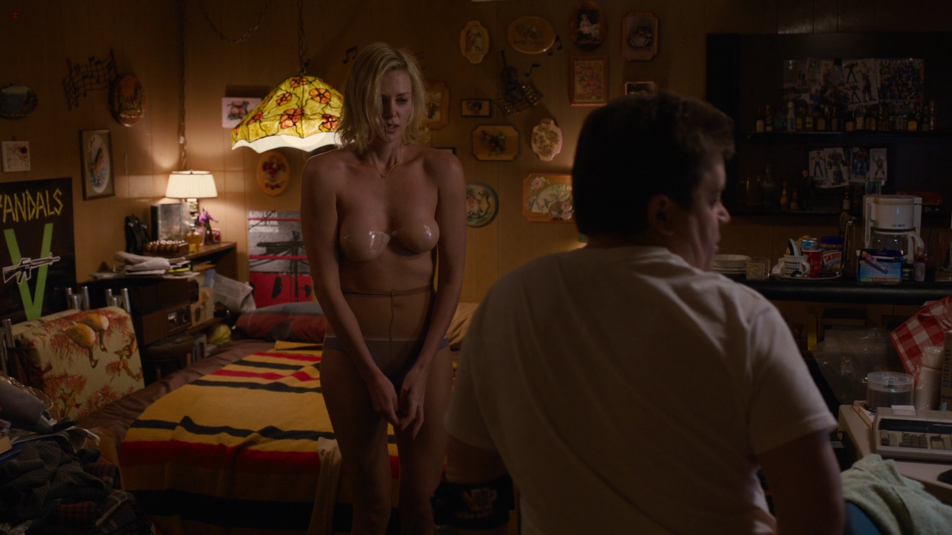 Charlize Theron hot striping to panties and bra – Young Adult (2011) hd1080p