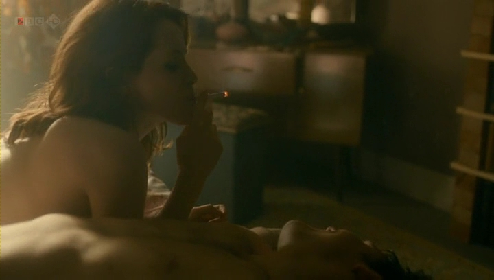 Claire Foy nude topless and sex in - White Heat (2012) s1e1