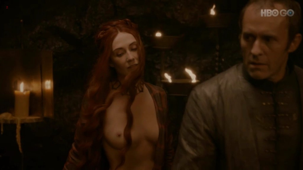 Carice van Houten full naked and sex from Game Of Thrones s2e2 hd720p webdll