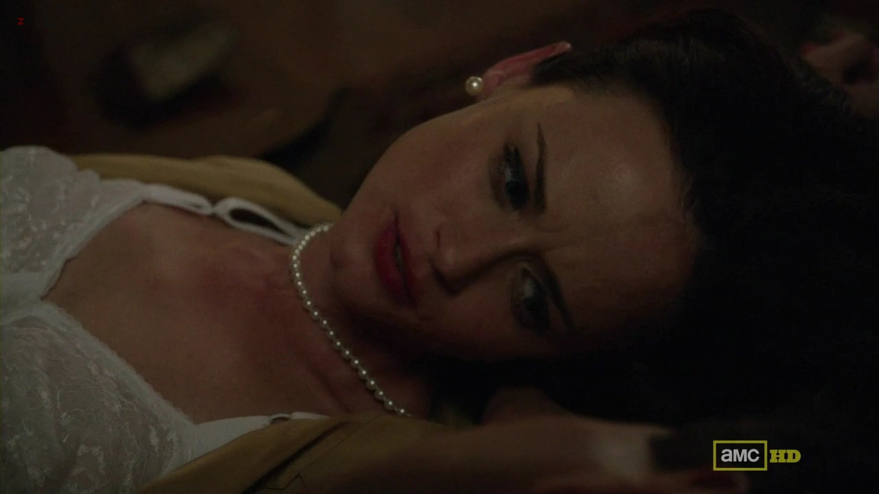 "Alexis Bledel very hot in bra from ""Mad Man"" s5e8 hd720p"