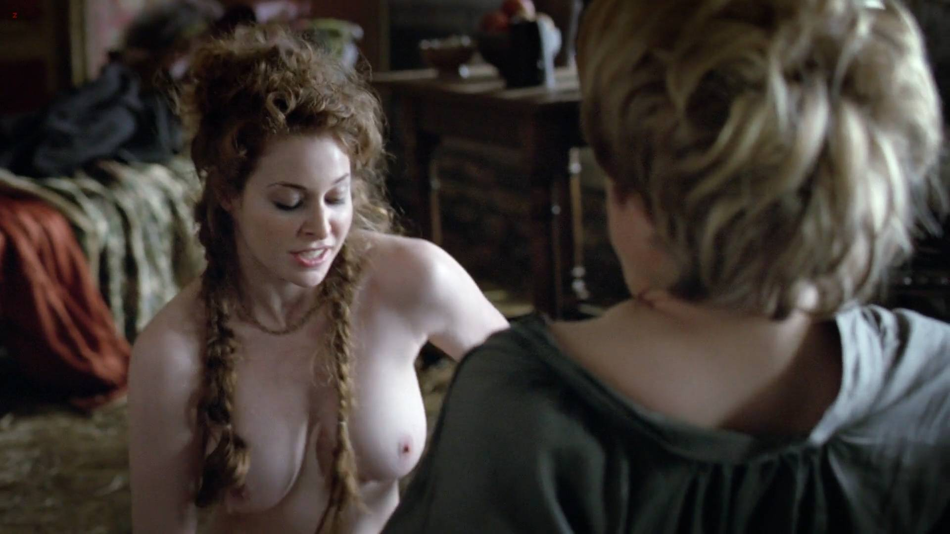 dominique mcelligott tits and pussy