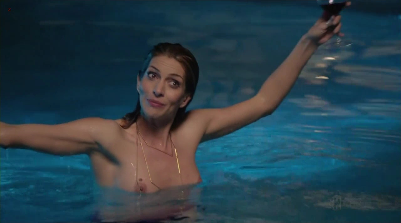 "Dawn Olivieri naked and skinny dipping in the pool ""House of Lies"" S02E09 (2013) hd720p"