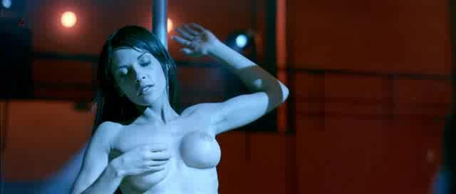 Elizabeth Cervantes naked as stripper from Fuera del cielo (2006)1