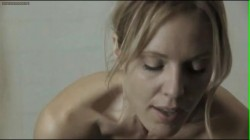 """Emma Caulfield nude topless and butt from Dont'Panic"""" with slow motion"""
