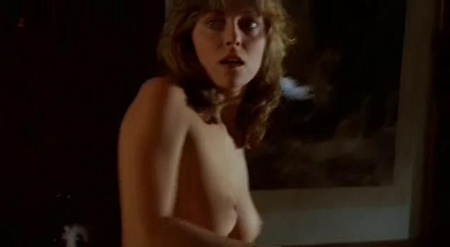 Greta Scacchi naked in Makavejevs cult movie The Coca-Cola Kid (1985)