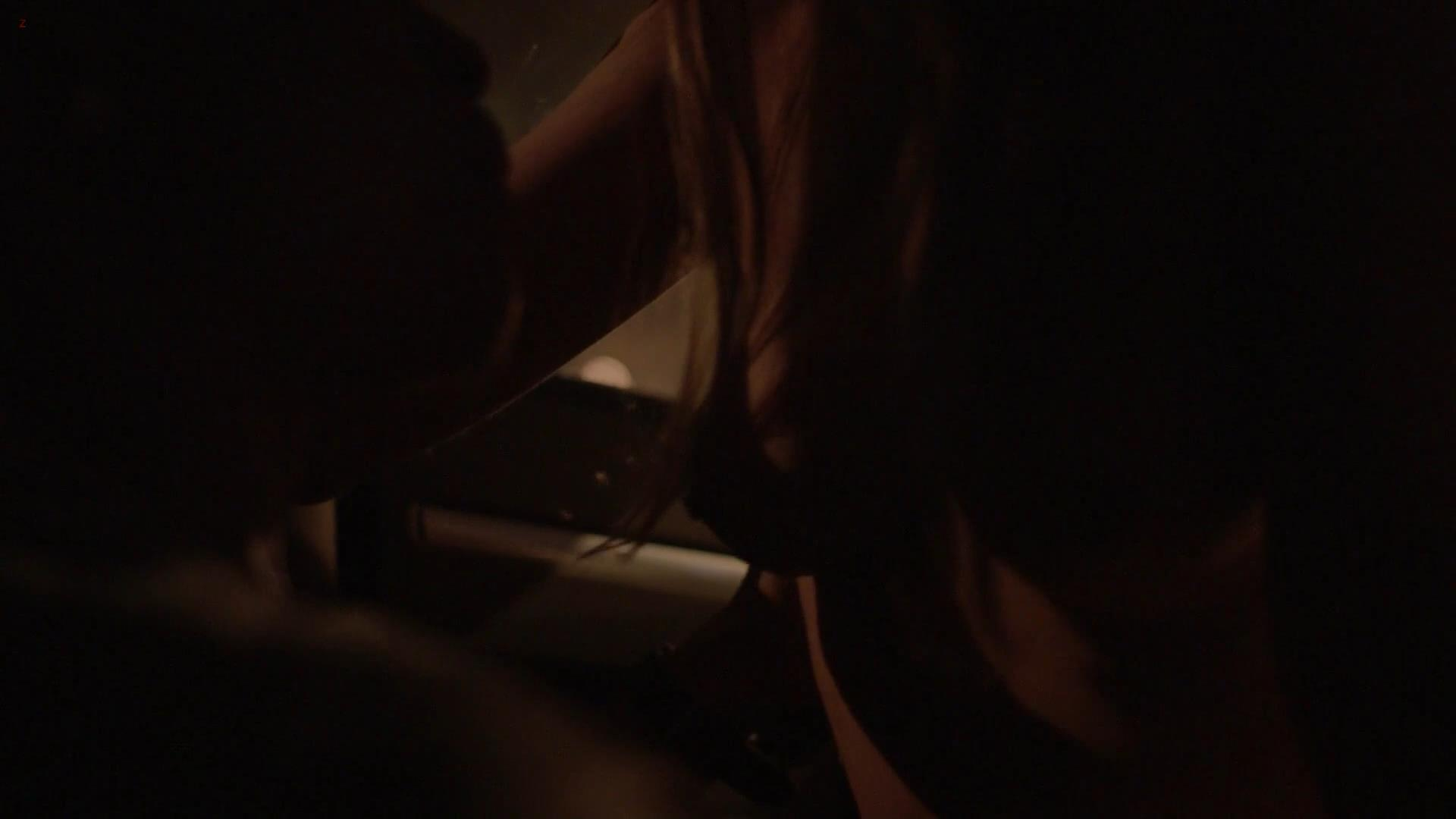 Hannah Ware nude topless sex in the car from Boss s1e4 hd1080p video edit1