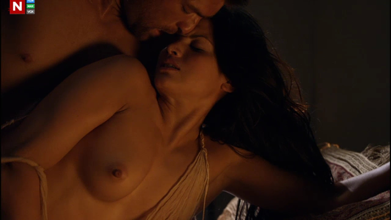 Katrina Law naked and sex with the dude from Spartacus Vengeance s2e3 hd720p