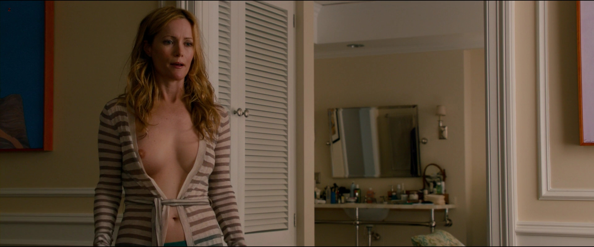 "Leslie Mann nude topless in ""This Is 40"" (2012) hd1080p"