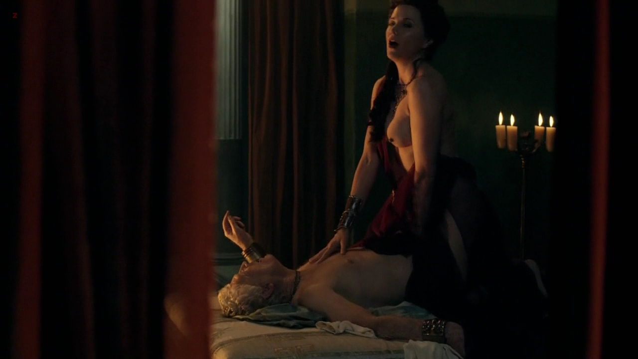 Lucy lawless spartacus sex scene