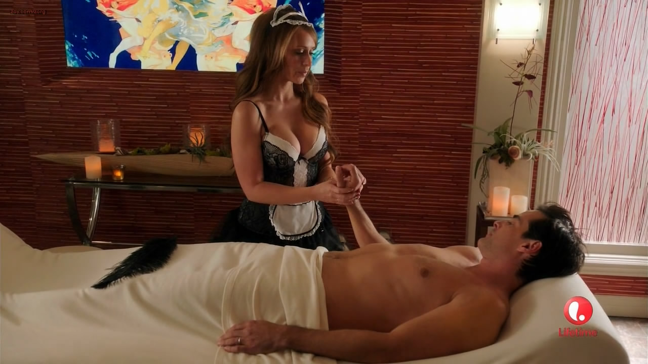 Jennifer Love Hewitt sexy more than usual full naked back - Client List (2013) s2e6 hd720p