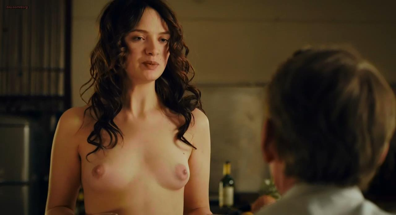 Sara Forestier naked and full frontal nude and topless - Le nom des gens (2010) hd720p.