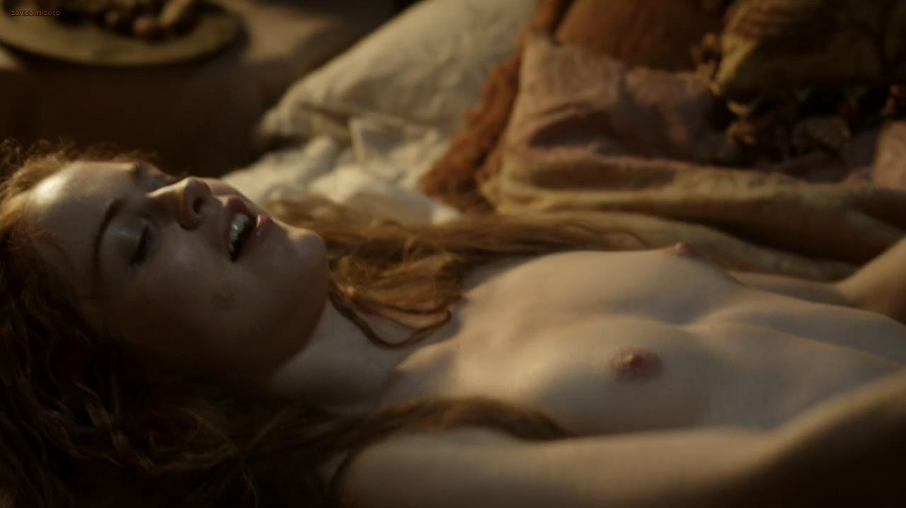 Hera Hilmar nude topless bush and sex - Da Vincis Demons (2013) s1e7 hd720