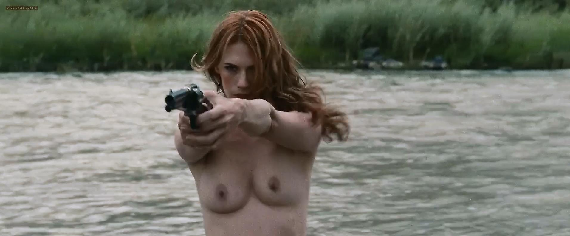 January Jones nude full topless for the first time - Sweet Vengeance (2012) hd1080p
