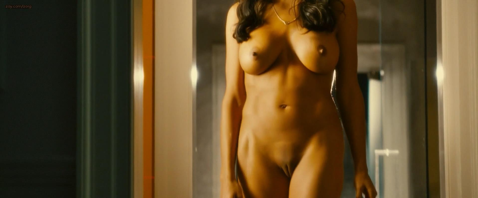 Rosario Dawson full frontal nude and labia – Trance (2011) hd1080p