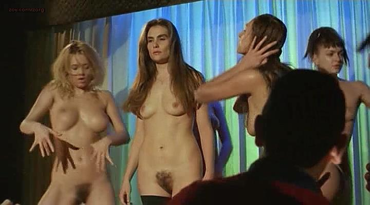 Emmanuelle Seigner nude bush topless and full frontal and others – Le sourire (FR-1994)