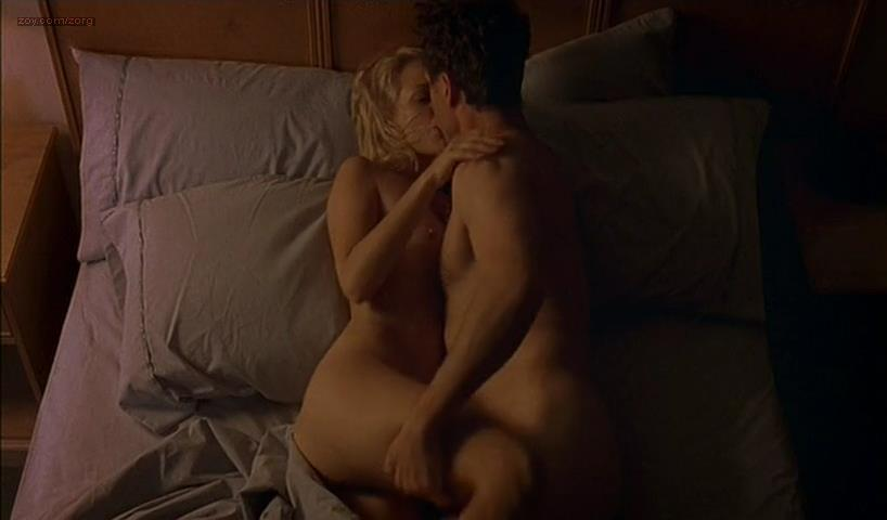 Maria Bello nude brief topless and sex – The Sisters (2005)