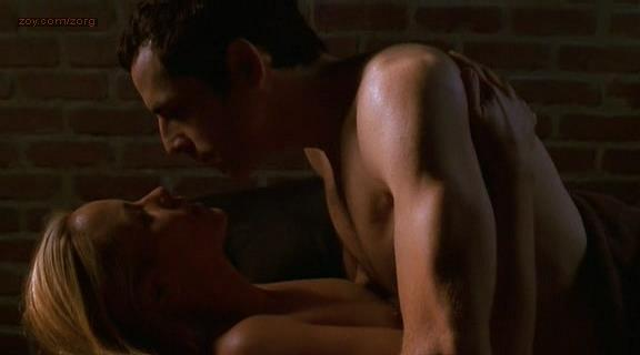 Maria Bello nude brief topless in sex scene – Permanent Midnight hd 720p (1998)