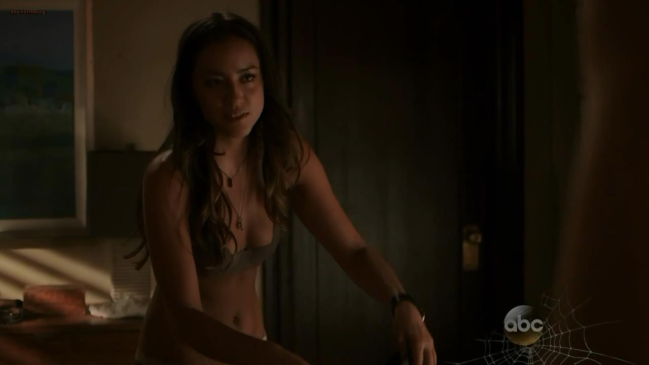 Chloe Bennet hot and sexy in lingerie from – Marvels Agents of S.H.I.E.L.D. s1e5 hdtv720p