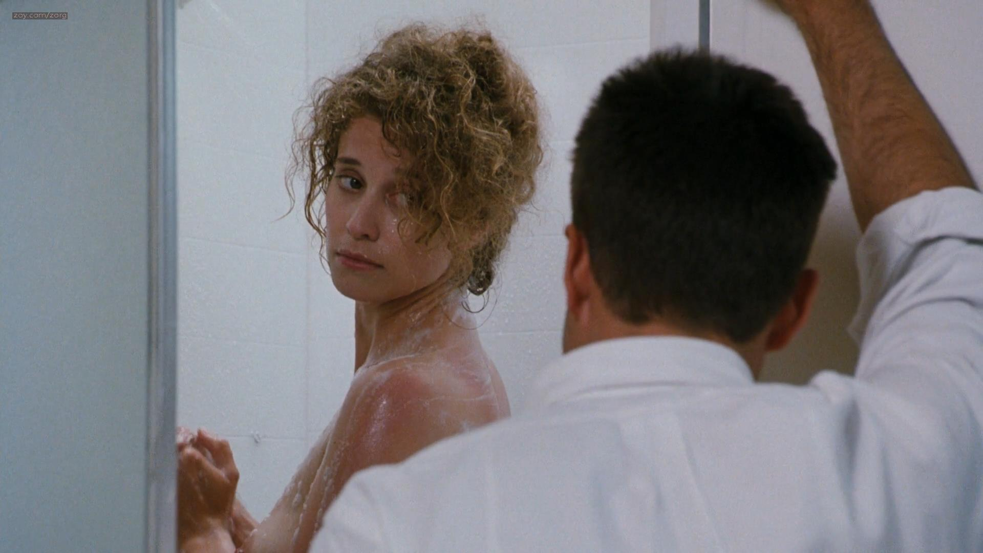 Nancy Travis nude brief nipple in the shower and Faye Grant nude topless and sex - Internal Affairs (1990) hd1080p
