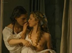 Stéphanie Crayencour nude topless and Cecile Cassel nip slip - The Romance of Astrea and Celadon (2007) (9)