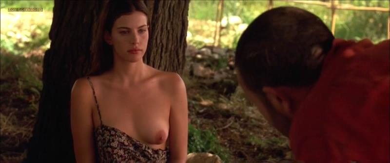 Liv Tyler nude topless and sex - Stealing Beauty (1996)