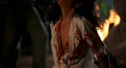 Lisa Bonet nude topless bloody and hot sex and Elizabeth Whitcraft nude topless in - Angel Heart (1987) hd1080p (15)