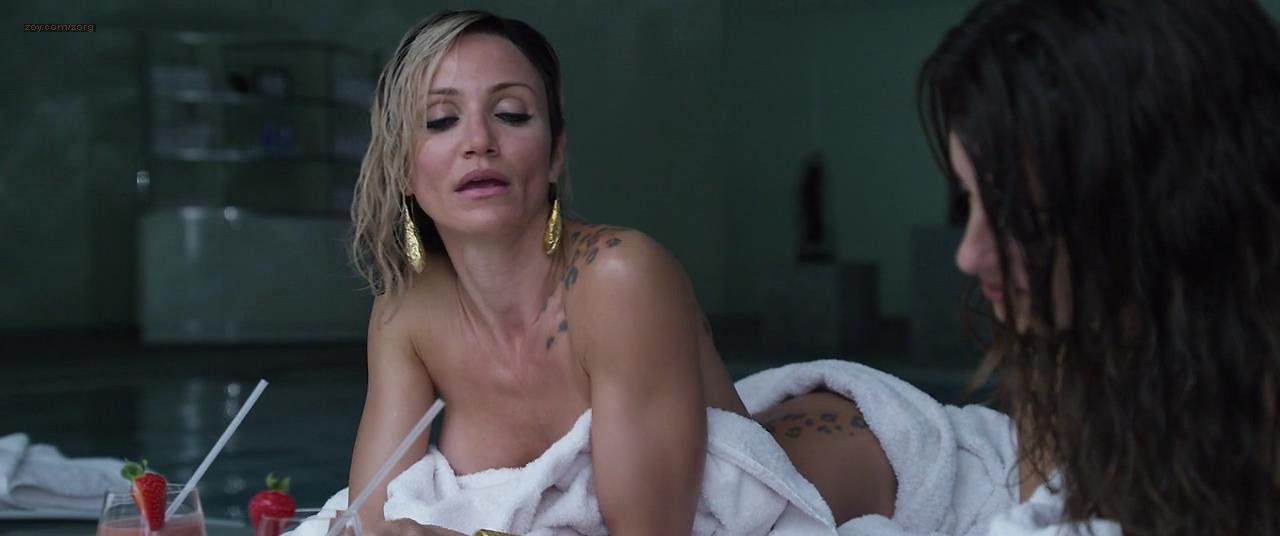 Penelope Cruz and Cameron Diaz hot and some sex – The Counselor (2013) hd720p