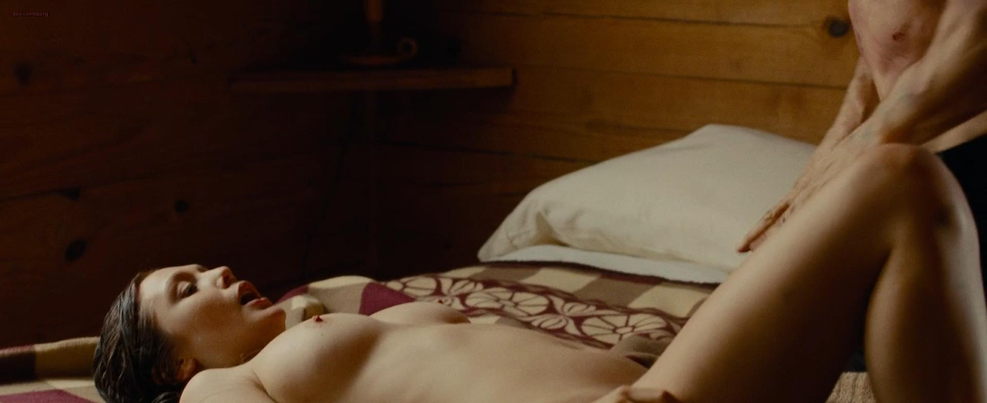 Elizabeth Olsen nude topless and sex - Oldboy (2013) hd1080p