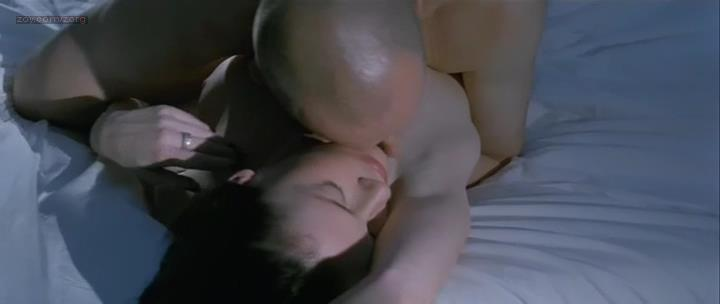 Connie Nielsen nude topless and sex in – Demonlover (2002)