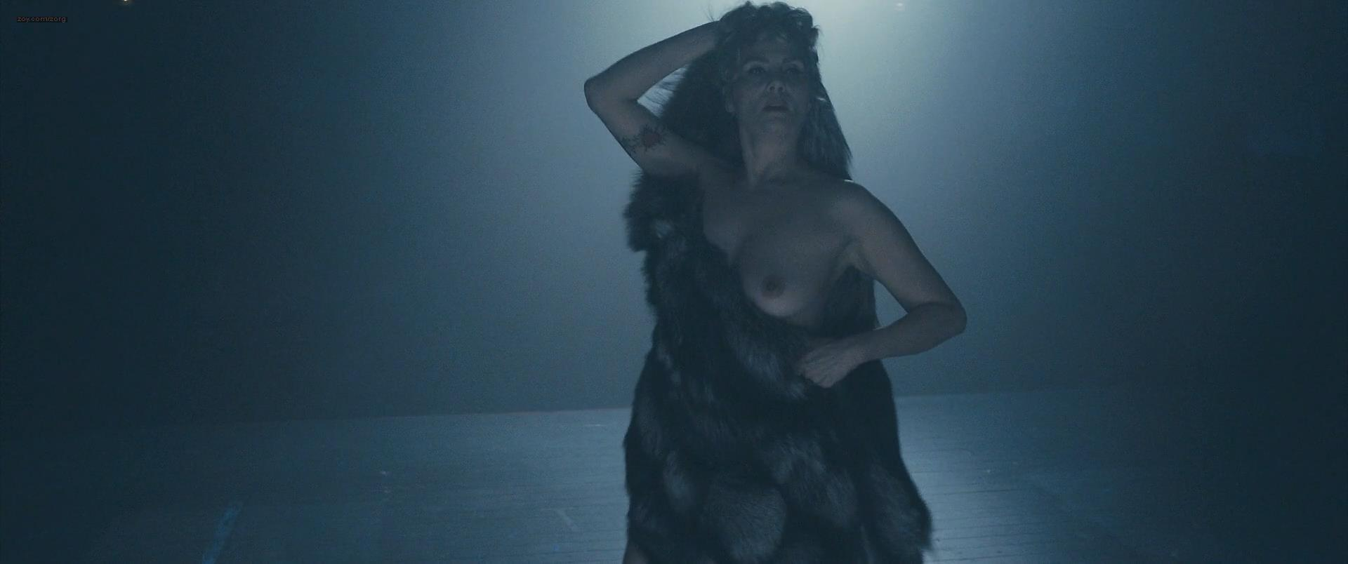Emmanuelle Seigner hot sexy in lingerie and briefly nude topless in Polanski's Venus in Fur (2013) hd1080p