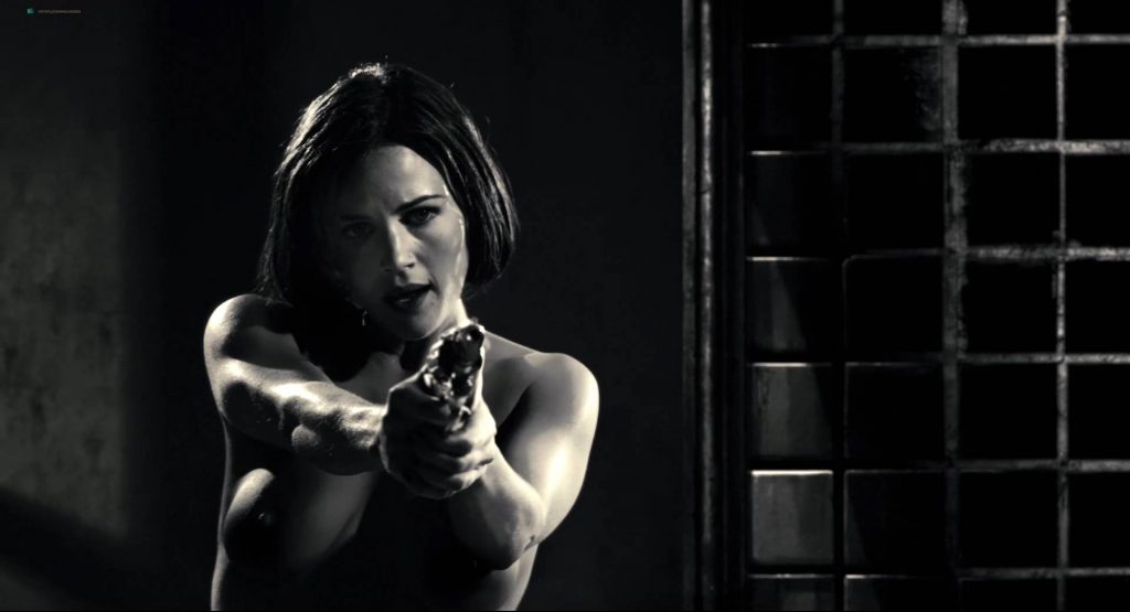 Jaime King nude Jessica Alba hot Carla Gugino nude other's hot - Sin City (2005) HD 1080p BluRay (9)