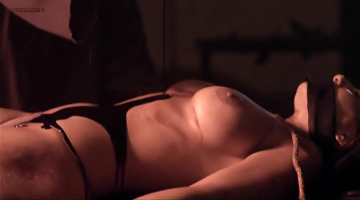 Sara Malakul Lane nude topless and rough and Bonnie Grinberg nude and about to be dead - 12-12-12 (2012)