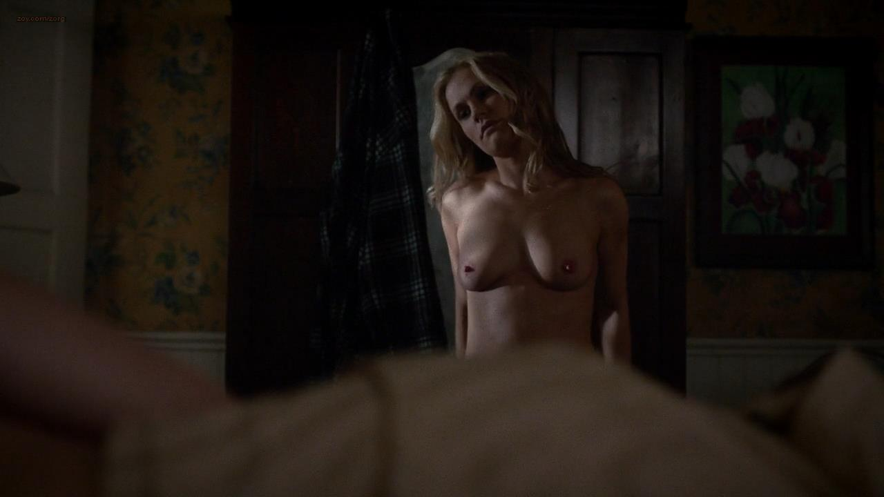 Karolina Wydra nude sex and Anna Paquin nude topless and sex - True Blood (2014) s7e1 hd720p