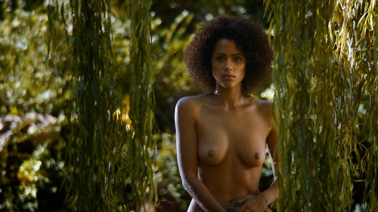 Nathalie Emmanuel nude topless and butt - Game of Thrones (2014) s4e8 HD 1080p (3)