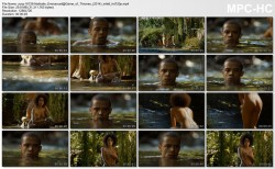 Nathalie Emmanuel nude topless and butt - Game of Thrones (2014) s4e8 HD 1080p (1)